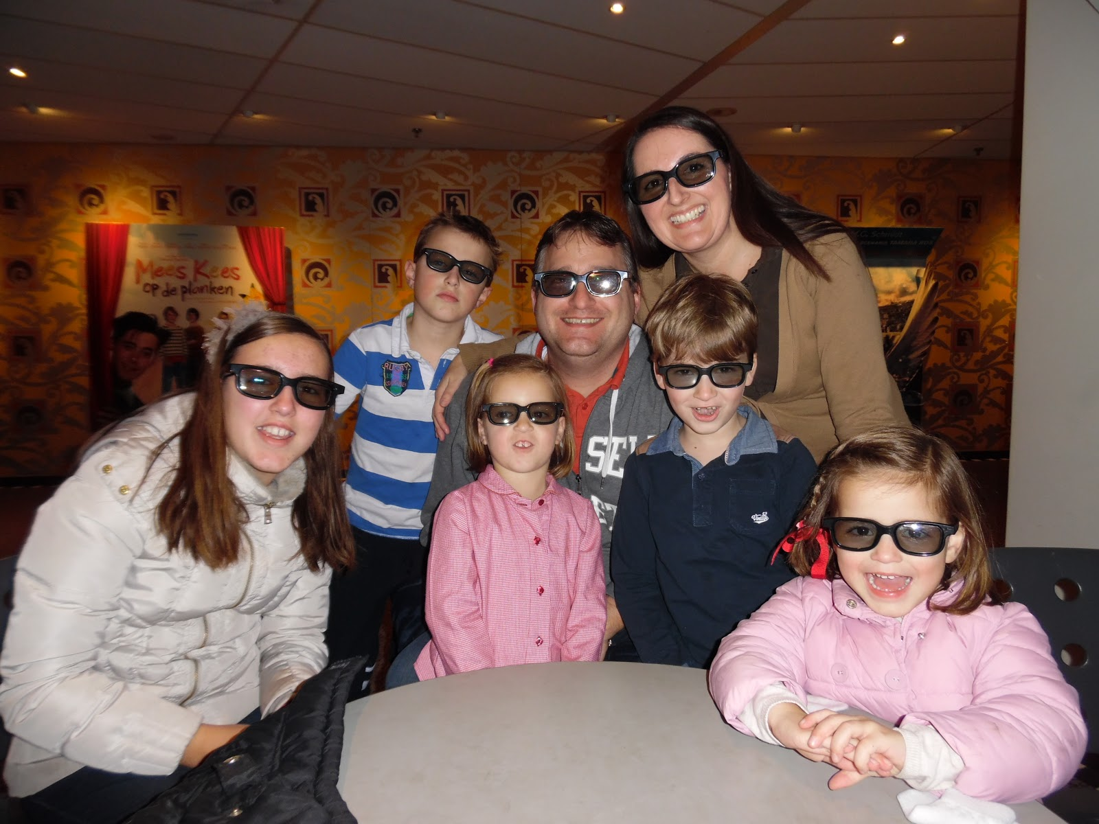 First time to 3D movie: Penguins of Madagaskar!