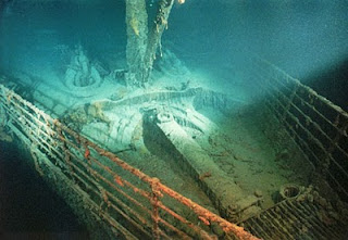 1912 RMS Titanic Ship Underwater Photos