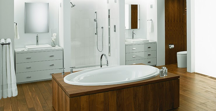 Standard Tub Size And Other Important Aspects Of The Bathroom: Most Popular ...: Kohler Drop