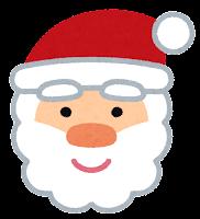 クリスマスのマーク「サンタクロース」