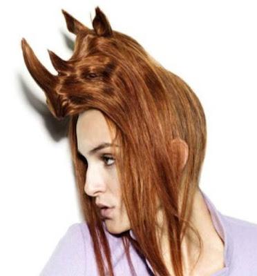 gaya rambut pelik