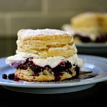 Cranberry Blueberry Shortcake