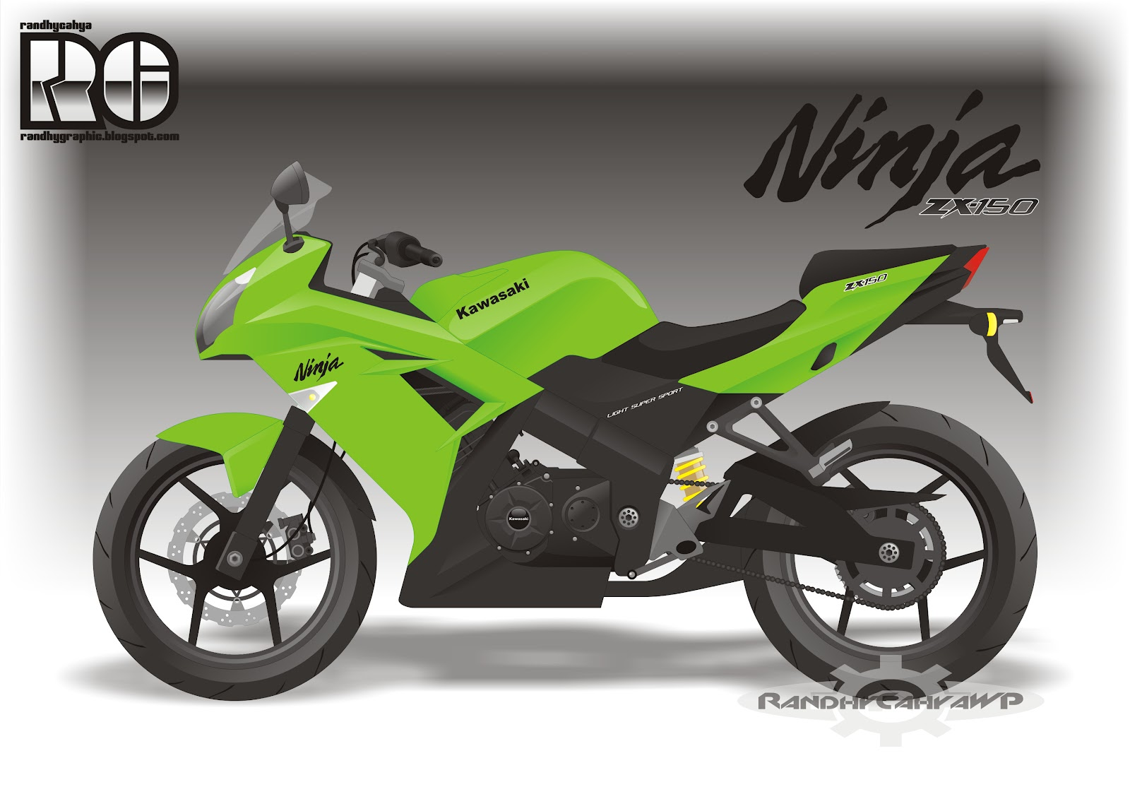 Ninja 150 4-Tak buat gantiin Ninja 150RR(2tak) demi memenuhi tuntutan ...