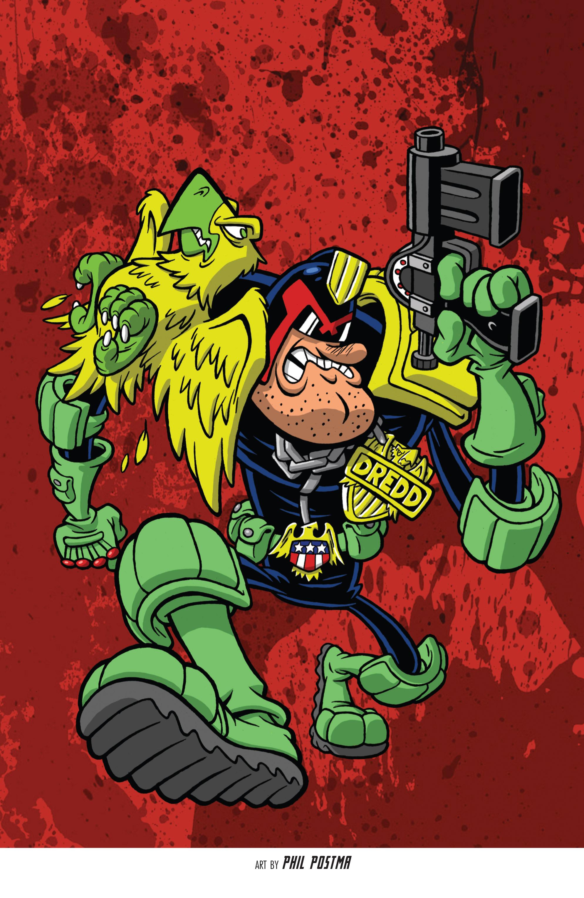 Read online Judge Dredd (2012) comic -  Issue # _TPB 3 - 101