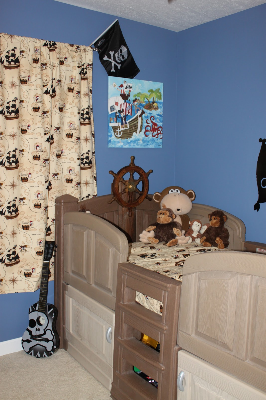 Pirate Themed Bedroom Its Fun 4 Me Pirate Bedroom Part 1