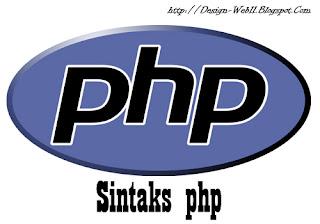 sintaks php