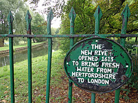 New River, Finsbury Park
