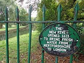 New River, Finsbury Park