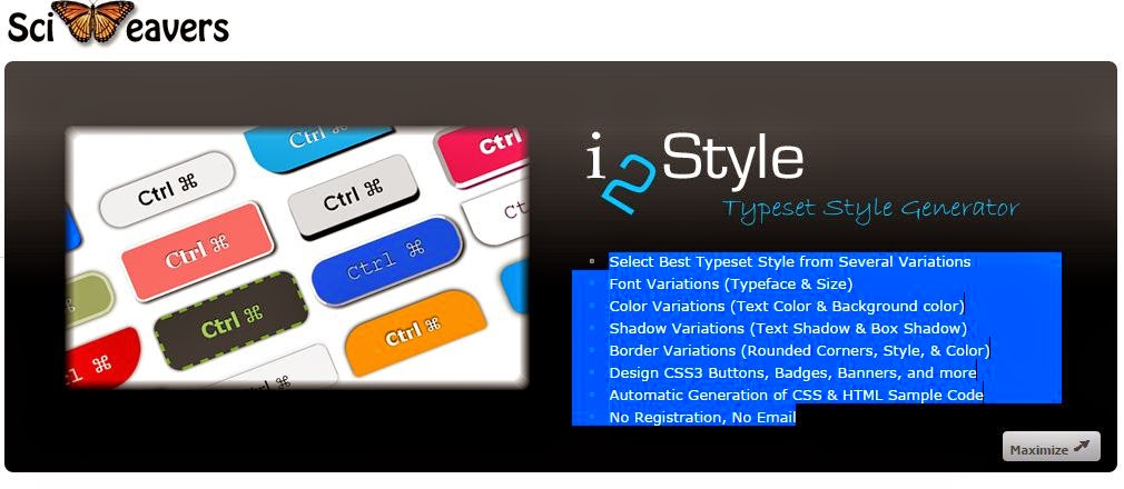 Button Maker – i2style