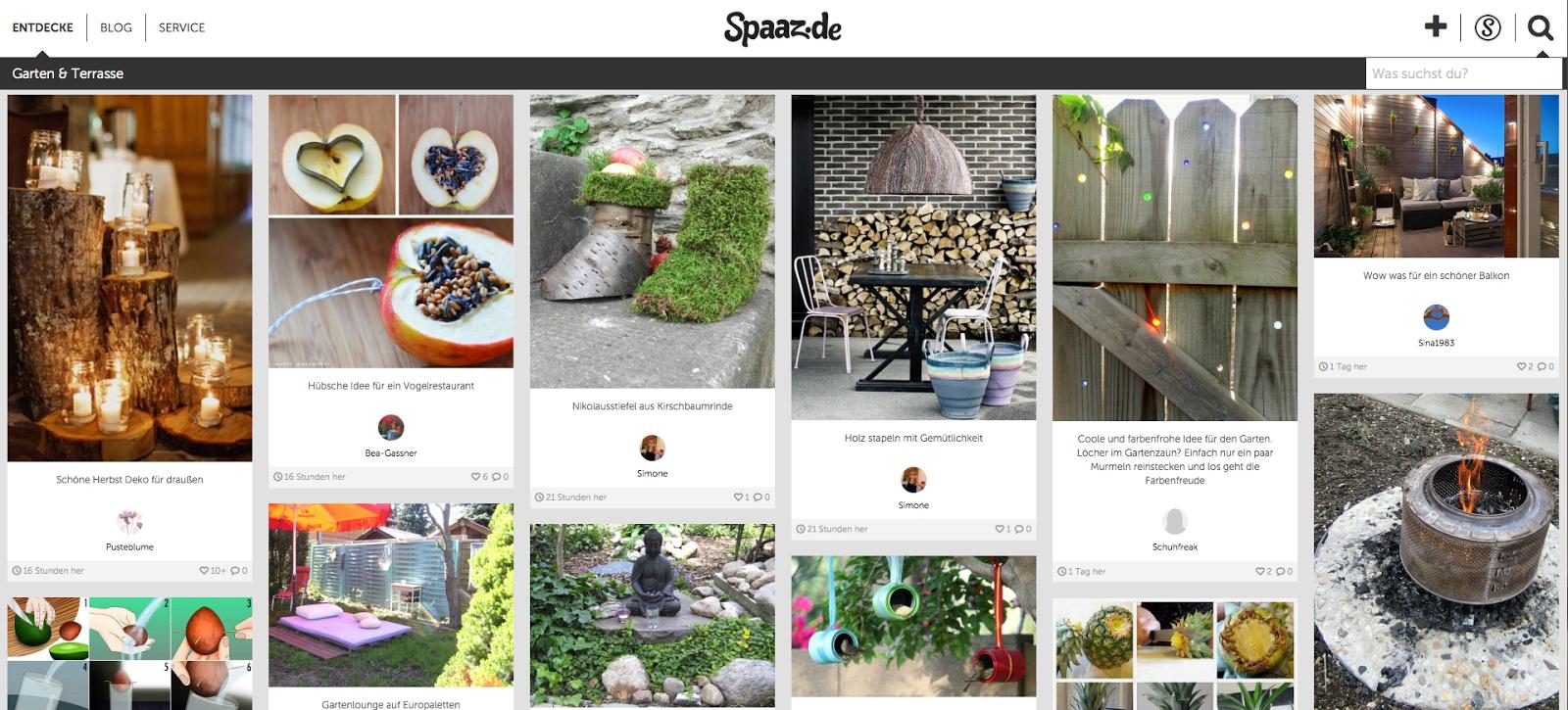 gartendeko-blog: kennt ihr schon spaaz.de?, Gartenarbeit ideen