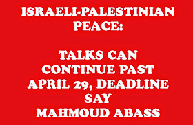 ISRAELI-PALESTINIAN PEACE: