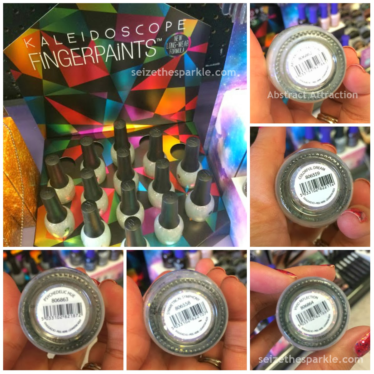 FingerPaints Kaleidoscope Collection
