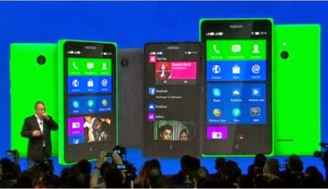 Handphone Android Nokia
