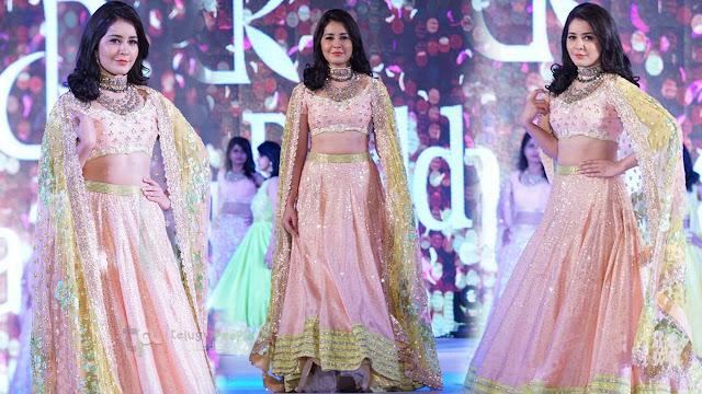 Rashi Khanna Latest Stills At Ficci Flo Women Achievers Fashion Show