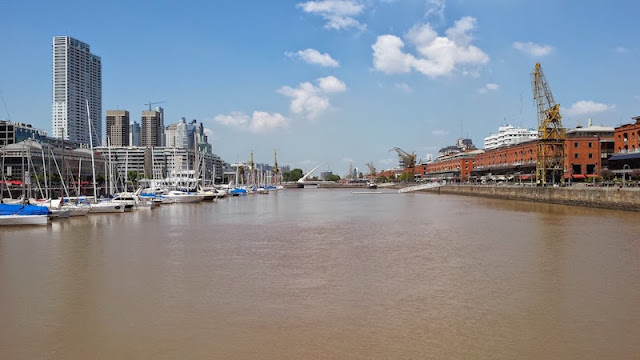 Vista geral Puerto Madero