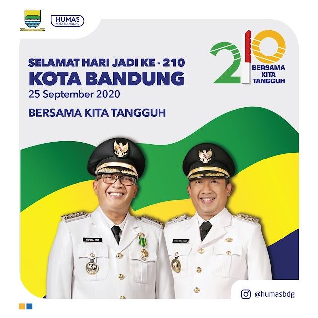 HJKB ke-210, Warga Bandung Doakan Bandung Semakin Juara