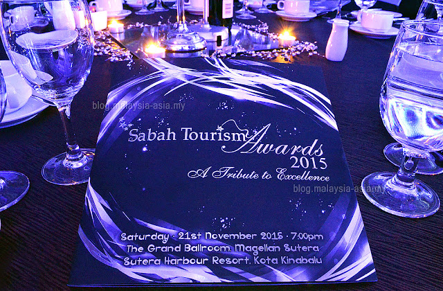 Winners of Sabah Tourism Awards 2015