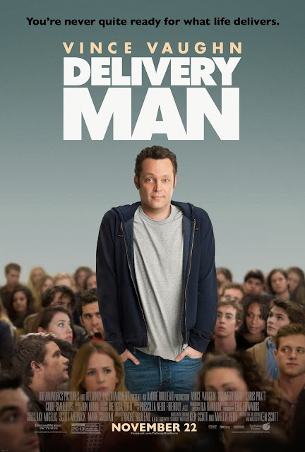 "DreamWorks Pictures' ""Delivery Man"" Poster & Sweepstakes"