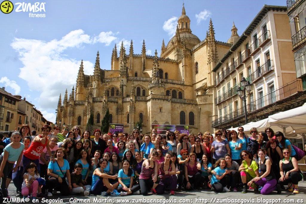 LA GRAN FAMILIA DE ZUMBA en Segovia CARMEN MARTIN