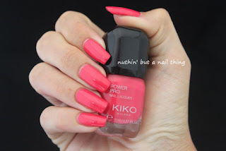 Kiko Power Pro Nail Lacquer - Strawberry Pink (12)