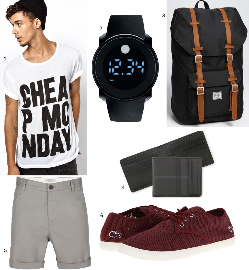 mens graphic tee, all saints shorts, burberry, burberry mens watch, red shoes, mens ootd, mens fashion blog