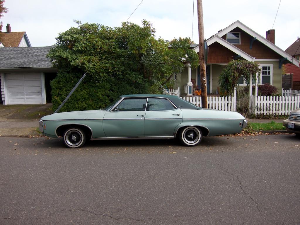 The street peep 1969 chevrolet caprice