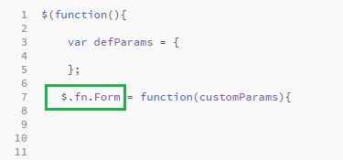Build a customizable jQuery Plugin for HTML5 Form    7