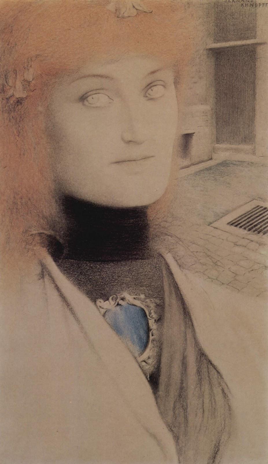 Fernand Khnopff woman