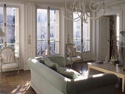 Beautiful Apartment In Paris: I've been dreaming of Paris. Enjoy this beautiful apartment.,LANDSCAPE GARDENING HOUSE   Interior and Exterior design