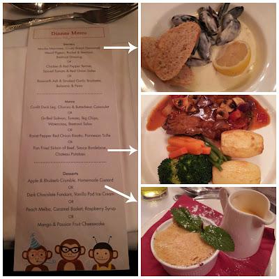 Moules Mariniere, Crumble, Steak, Borderlaise,