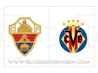 Prediksi Pertandingan Elche vs Villarreal