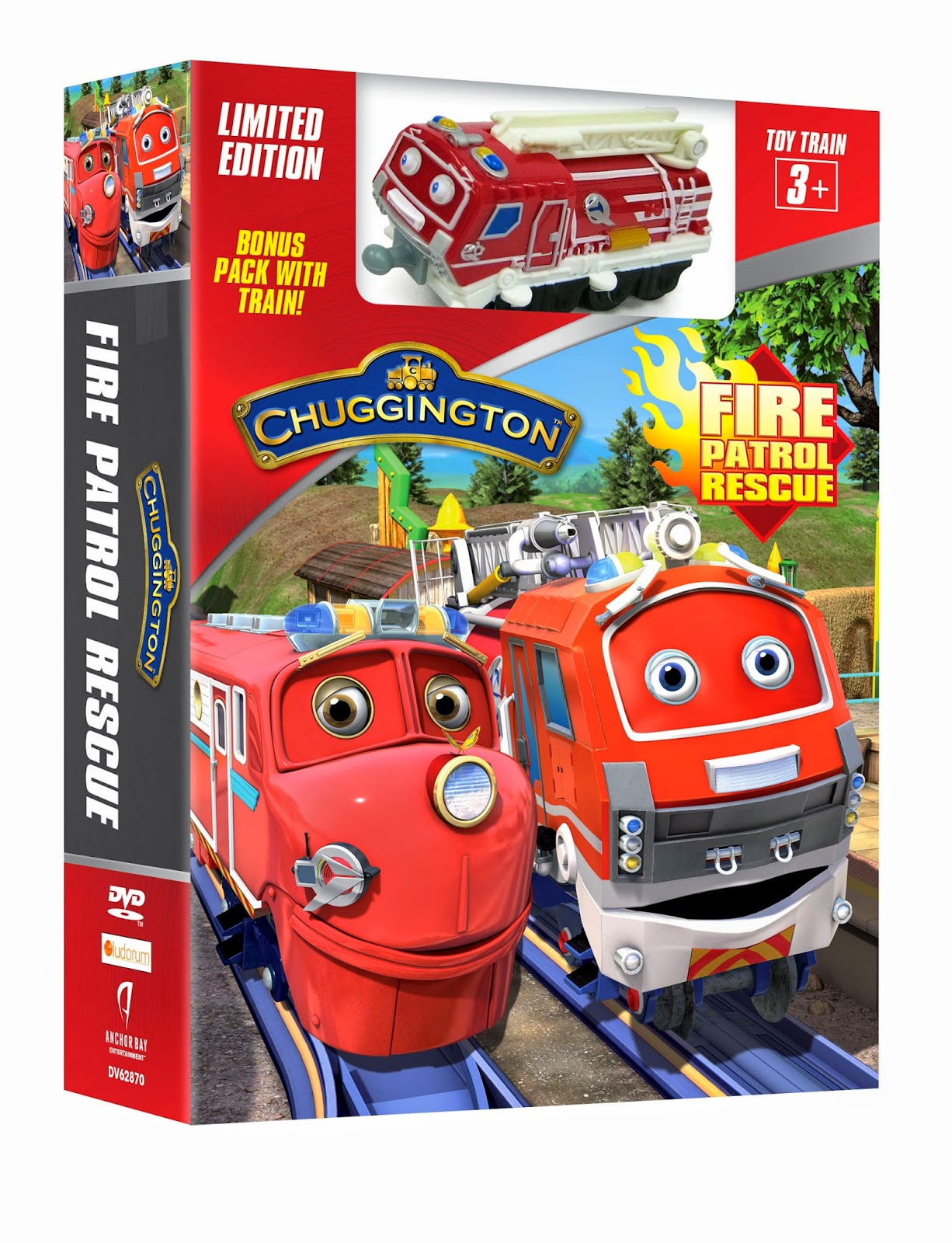 Its Chuggington Fire Patrol Rescue Day
