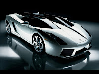 papel de parede Lamborghini conversível