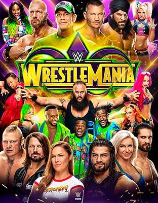 Ver WWE Wrestlemania 34 en Vivo Online