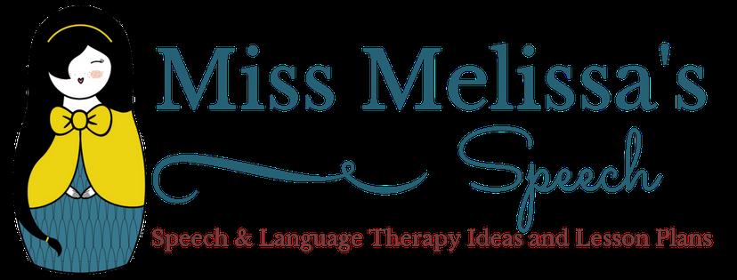 Miss Melissa's Speech