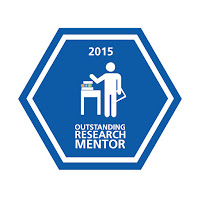 Outstanding Research Mentor Badge 2015