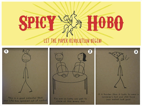 Spicy Hobo Greeting Cards Collage