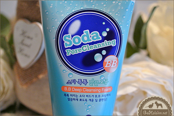 Holika Holika Soda Pore Cleansing BB Deep Cleansing Foam Review