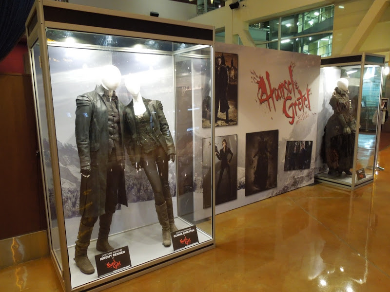 Hansel Gretel Witch Hunters movie costume exhibit