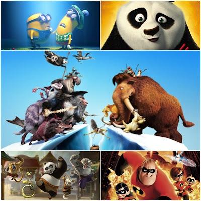 Windows 8 HD Animasyon Filmleri Teması