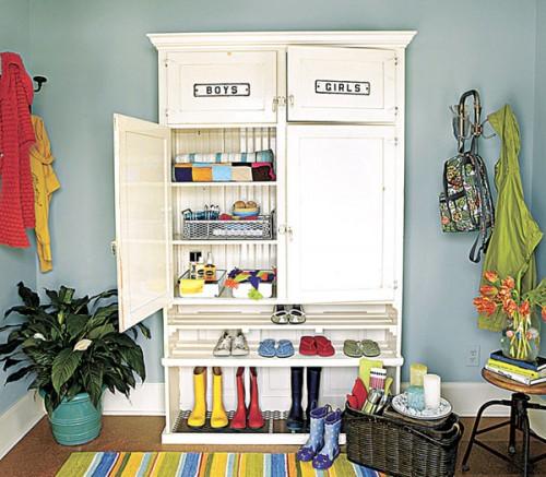 Foyer Organization Ideas : Small entryway ideas storage interior design