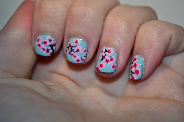 Cherry Blossom Träd naglar av Elins Naglar