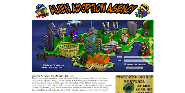 alien adoption agency