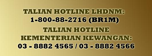 Talian telefon hotline BR1M 2015