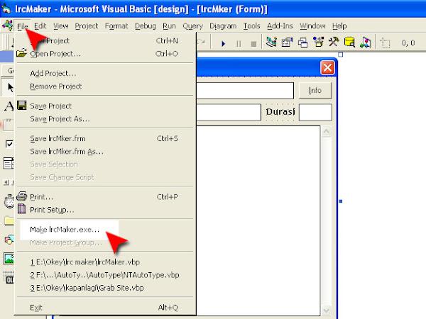 cara membuat file vb menjadi exe