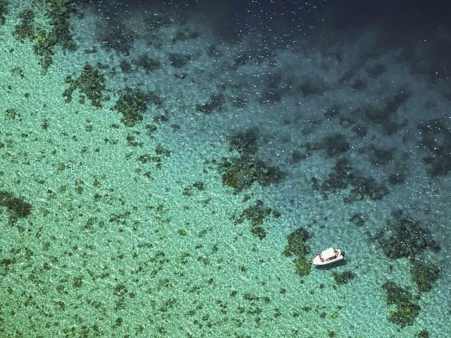 Pemandangan lagun yang spektakuler
