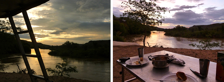 Ynas Reise Blog | Am Fluss Kunene