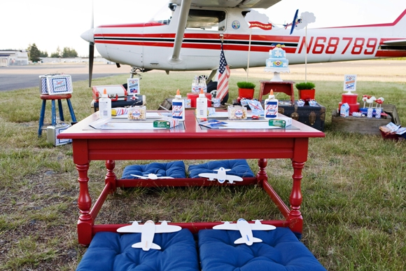Little Pilot Airplane Inspired Birthday Party Ideas Party