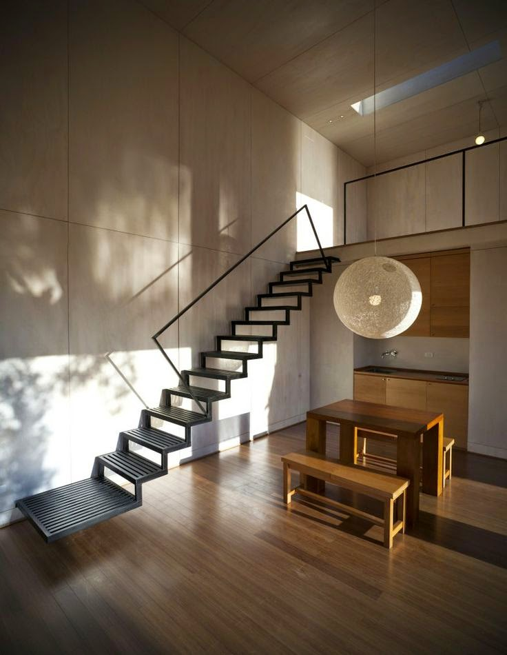 10 fotos de escaleras colores en casa - Diseno de una escalera ...