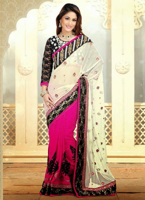Akshara in Indian Wedding Sarees